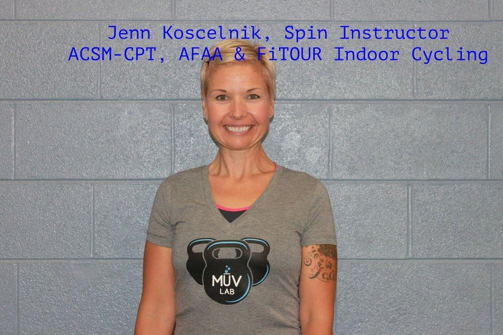 MuvLab-DTC Spin Class Instructor- Jenn Koscelnik