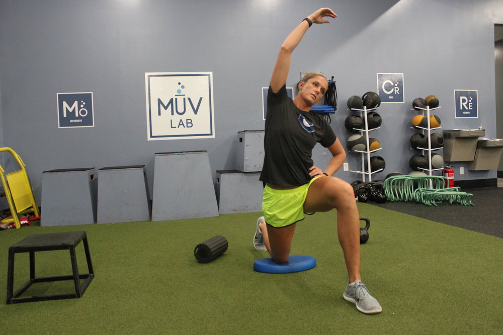 Static Hip Flexor and TFL stretch