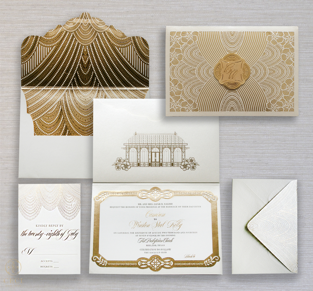 gold_deco_luxe_lavish_wedding_couture_luxury_invitation_design_lasercut_foil_glam_gilded_modern_sophisticated_midland_texas_invitations_suite_the_racquet_club-1.jpg