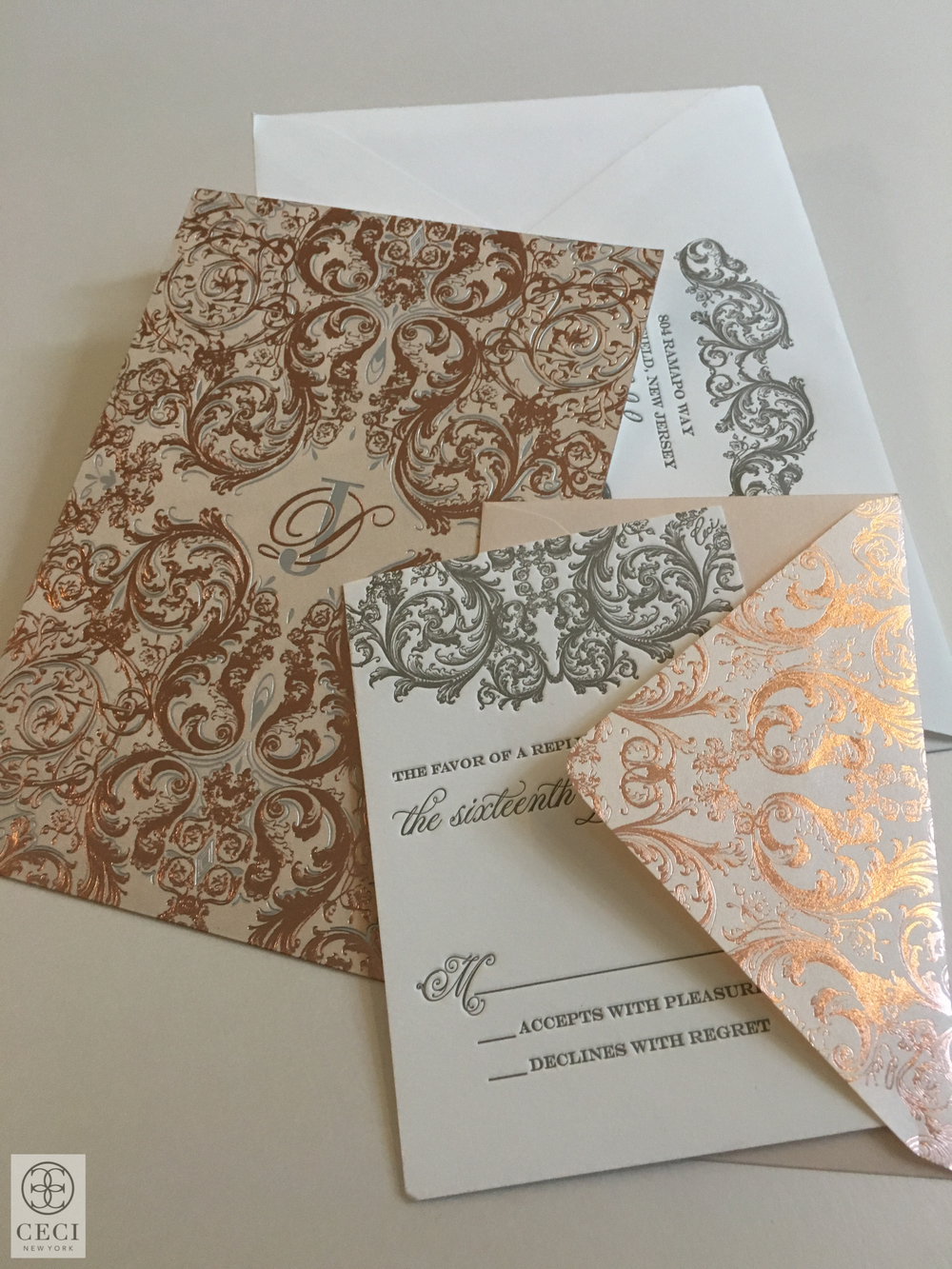 Ceci_New_York_Pierre_Invitations_Wedding_New_York_Elegance_Rose_Gold_Baroque_Classic_Foil_Stamping_Custom_Couture_Personalized.jpg
