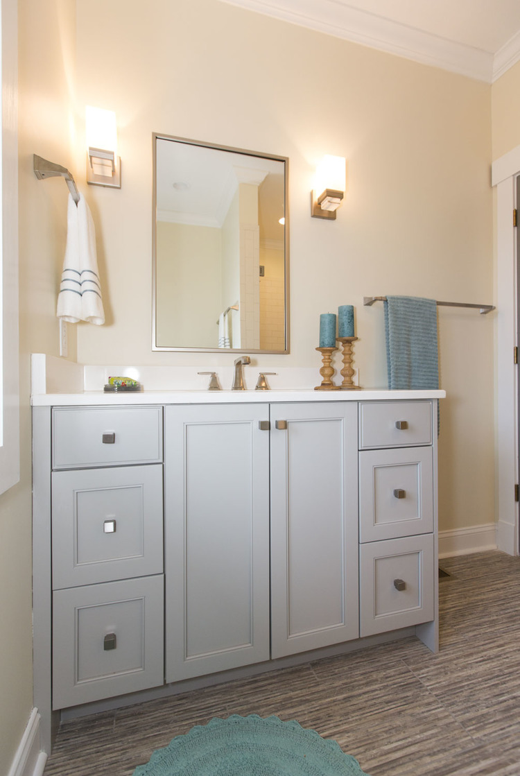 Shared Bath — Piedmont Joinery