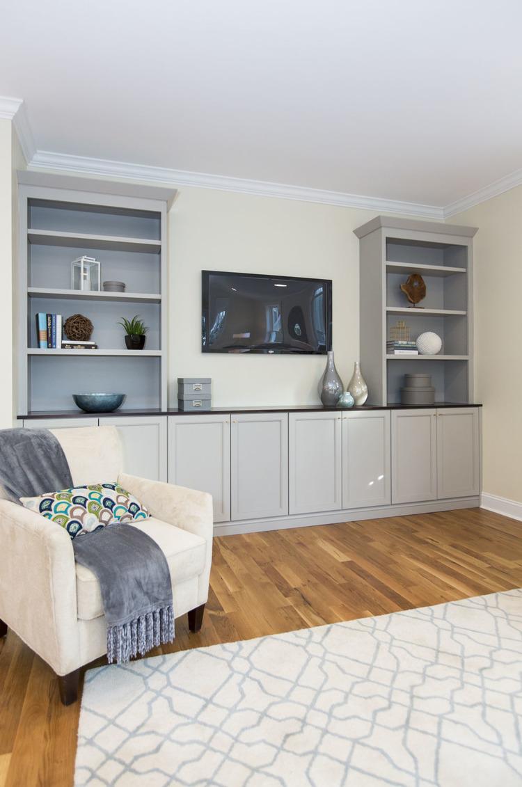 Living Room Built-In — Piedmont Joinery