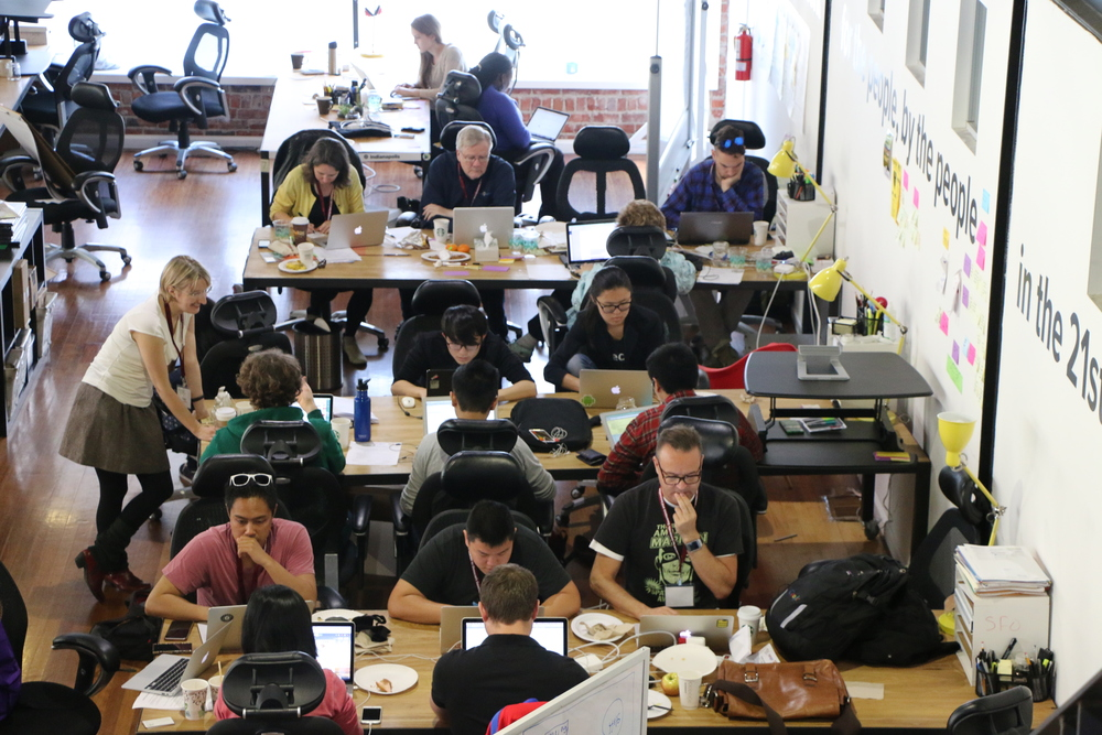 #Hack4Congress at Code for America, 2015