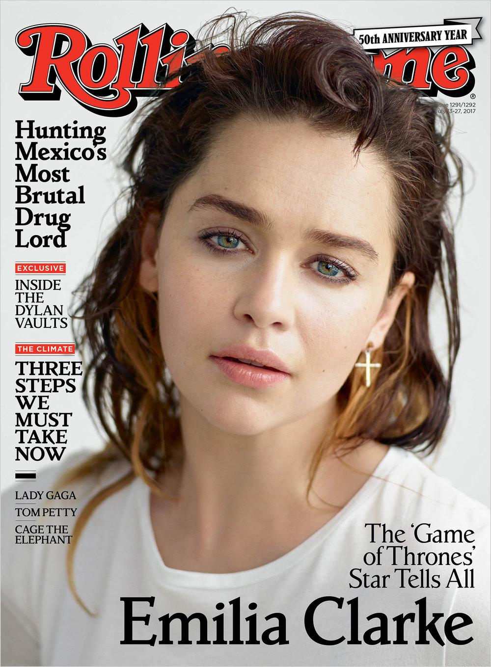 Emila Clark Rolling Stone Cover