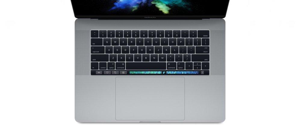Why didn't they place the Touch Bar above the trackpad, where it belongs??