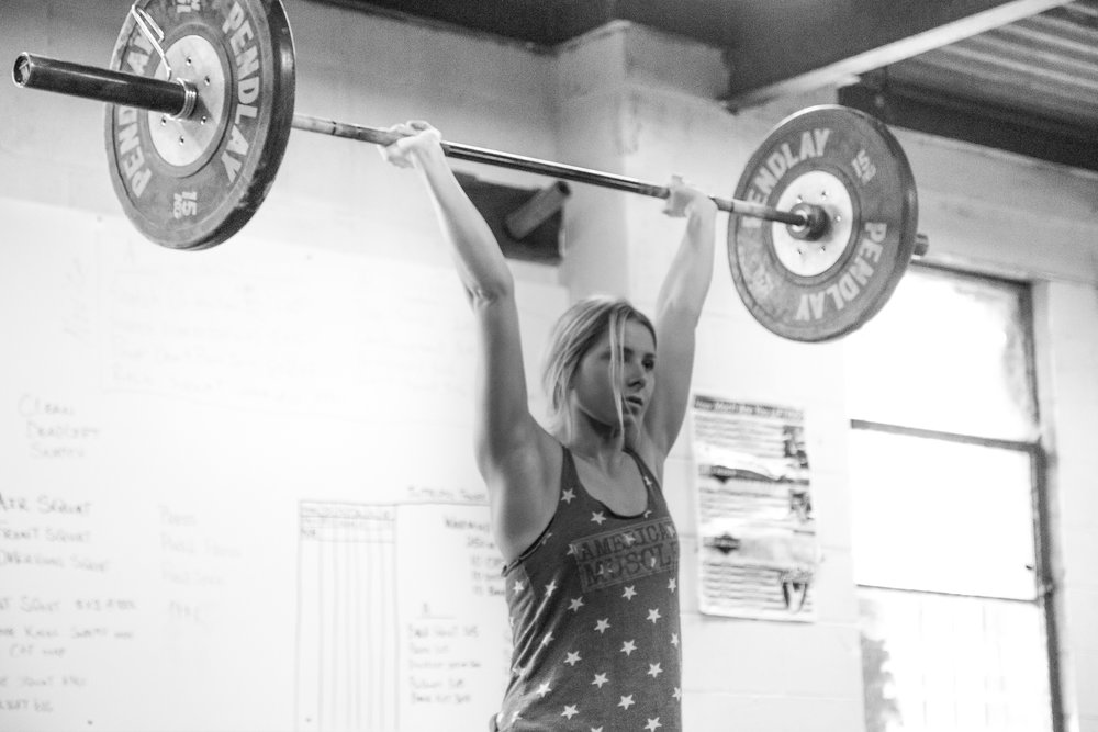 Featured Everyday Lifter Allie from   Intrepid Strength and Conditioning  .   Coaches: John Douglass and Ryan Hansen.