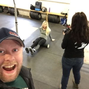 Owner and coach of Intrepid Strength and Conditioning,Ryan. Sneaky Ryan taking selfies.