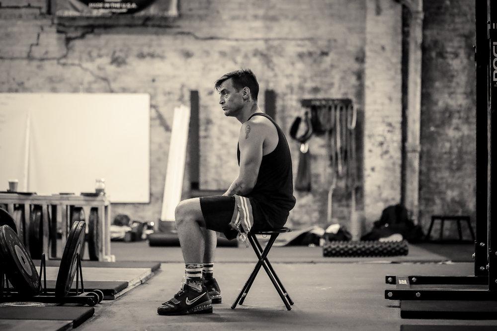 Weightlifter: Paul