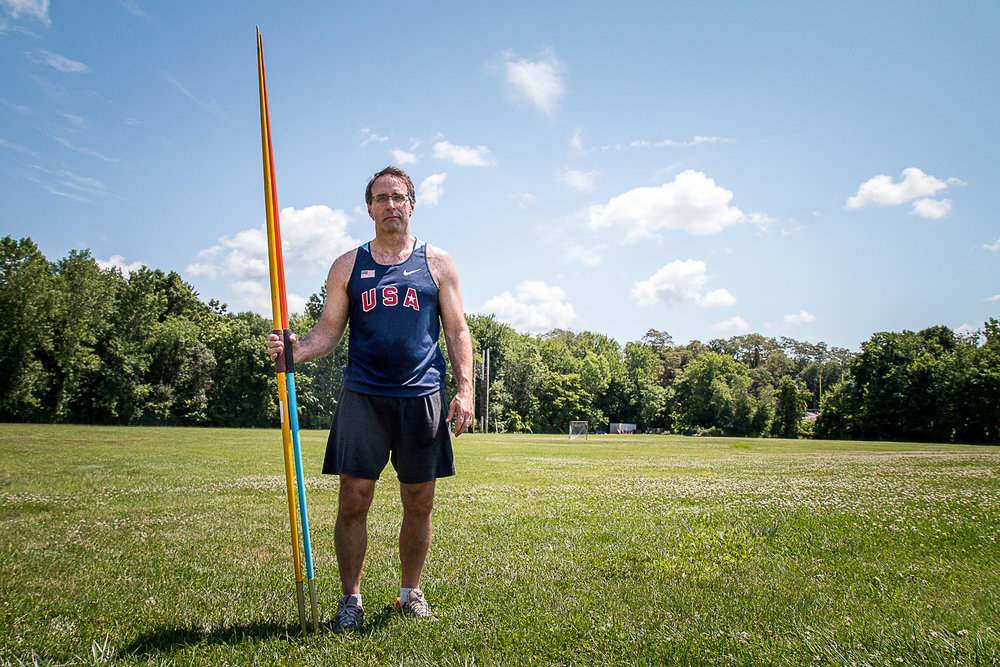 Most weekends you will find John at Ketcham High School near where he lives, still practicing Javelin.