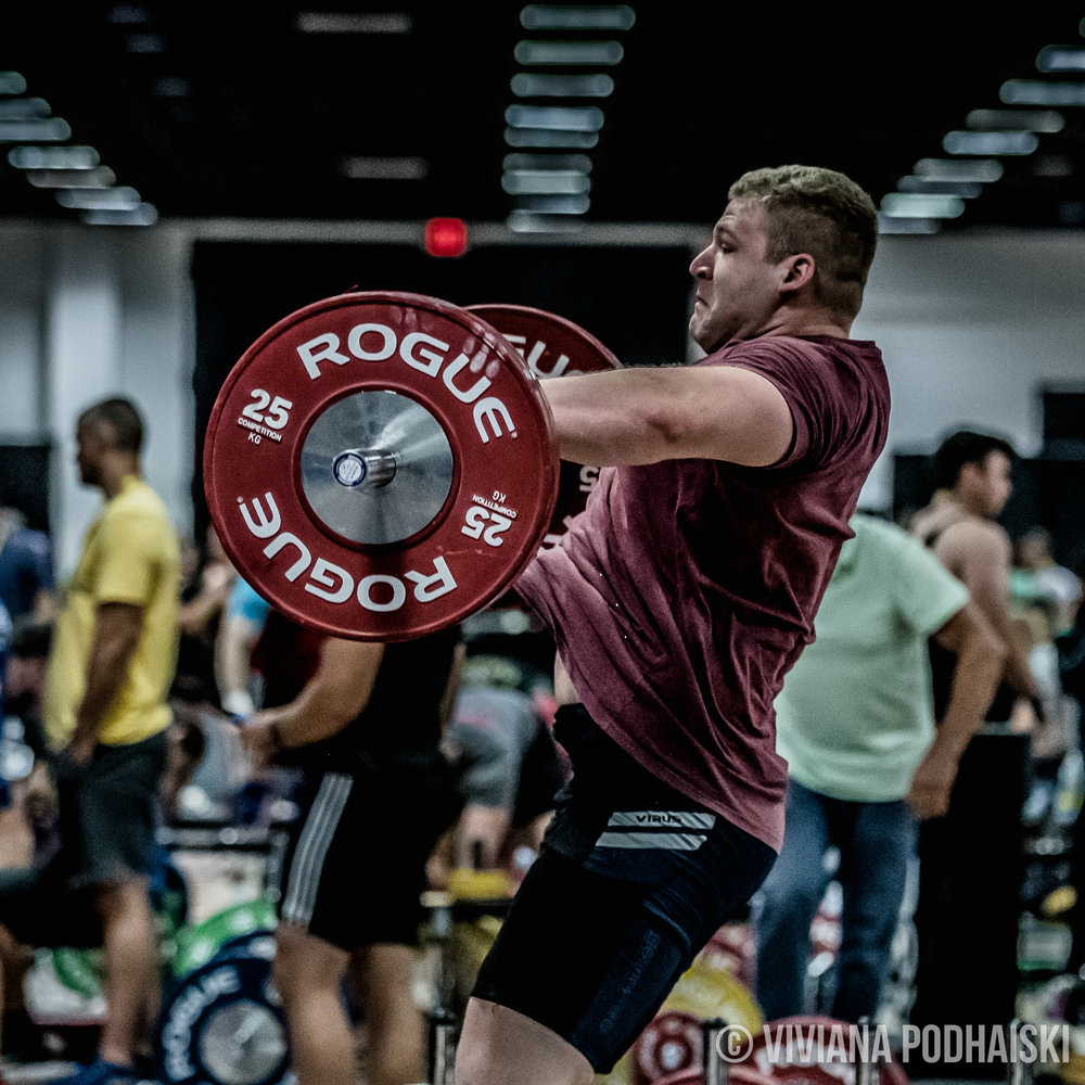 What I loved most was watching the people watching Witte.  Witte is a big guy and people took a sneak peek to his warm up attempts.  Witte towered over weightlifters, chalk bowls, coaches.. just about everything in the room.