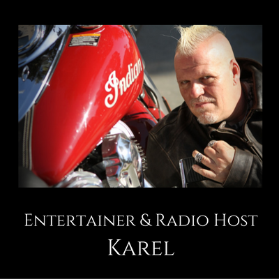 Karel, i am karel, gay radio host, human rights, donald trump show,