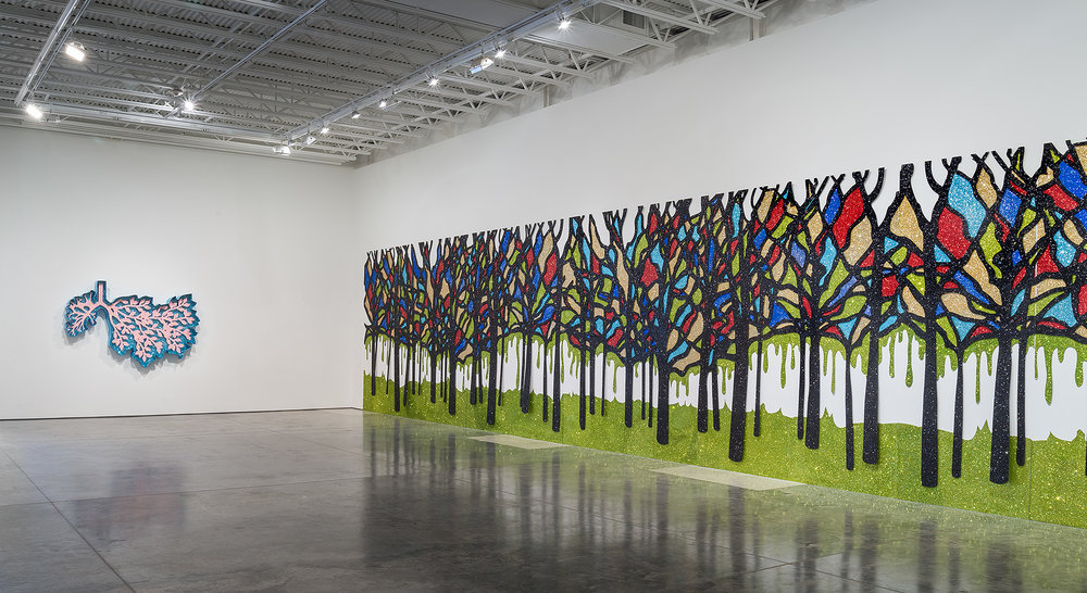 """Regeneration"" Installation View"