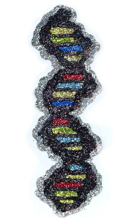 """Stained DNA"""