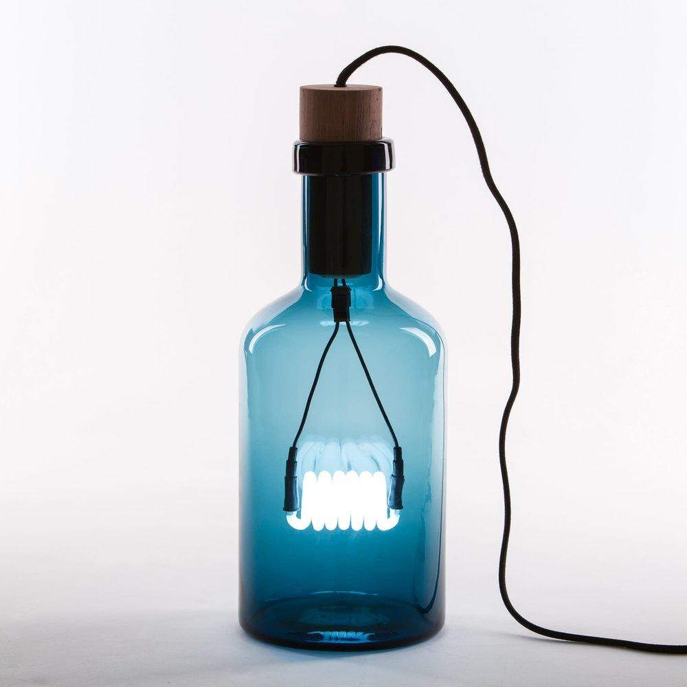Bouché Glass Table Light (Blue)   Seletti U2014 FABLAB