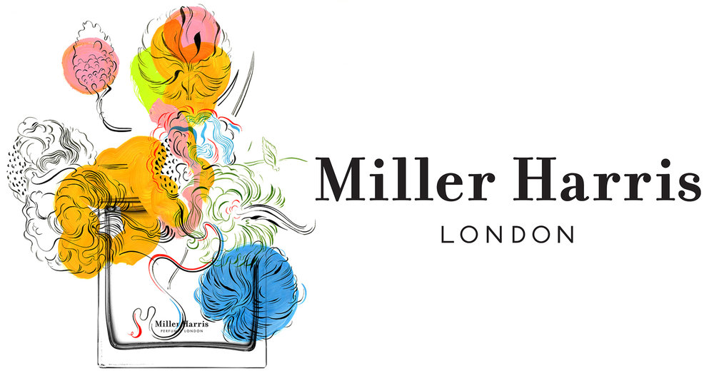 Miller Harris breathes colour and life into the classic perfumer's art, with complex couture fragrances designed to tell vivid urban stories. Miller Harris work with the finest raw materials and preserving the delicacy of the ingredients, then curate, combine and harmonise them to create perfumes that combine Parisian elegance with London's eclectic street styles.