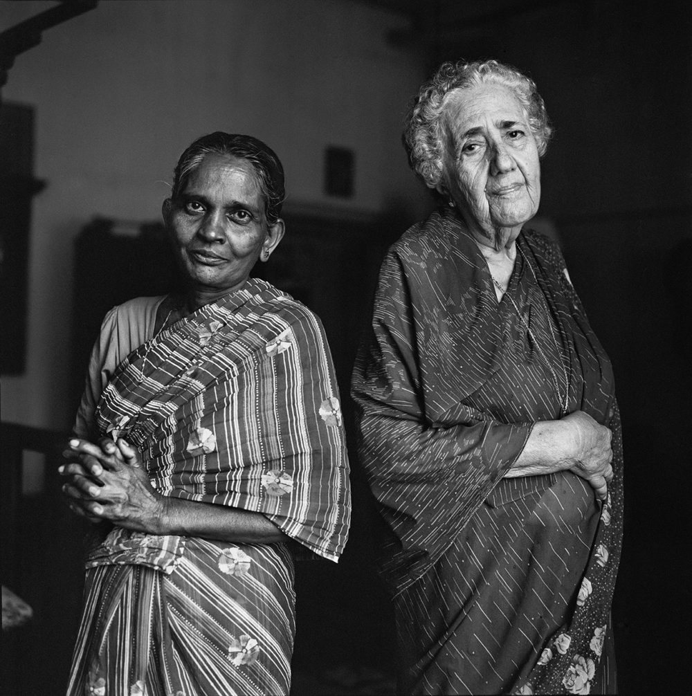 Sarah and Her Servant- Cochin, India