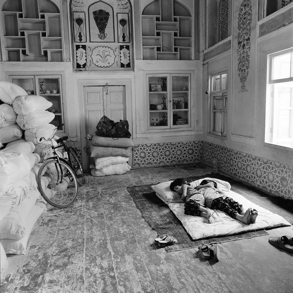 Sleeping Children- Bukhara, Uzbekistan