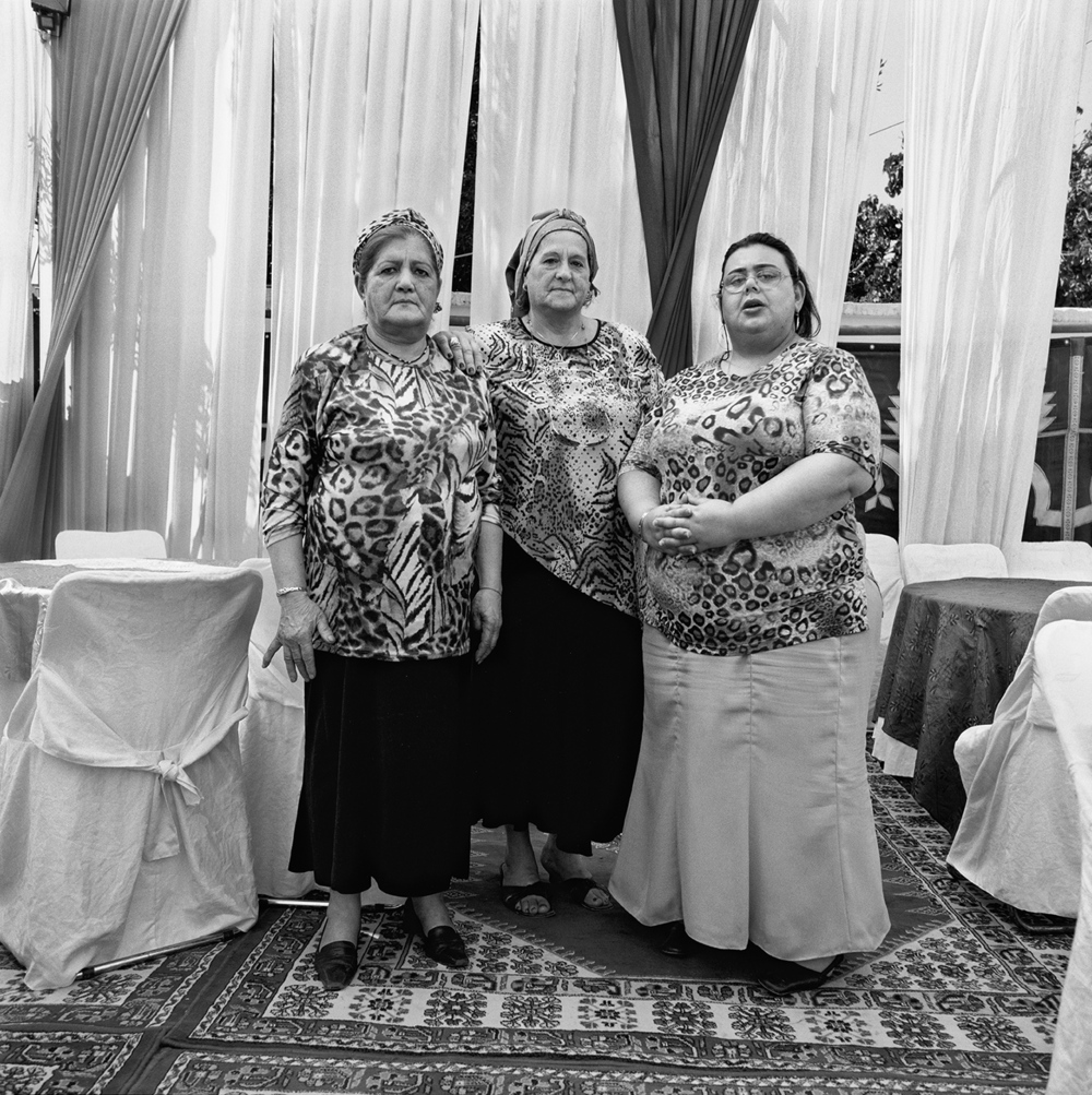 Three Women in Ouazan- Ouazan, Morocco