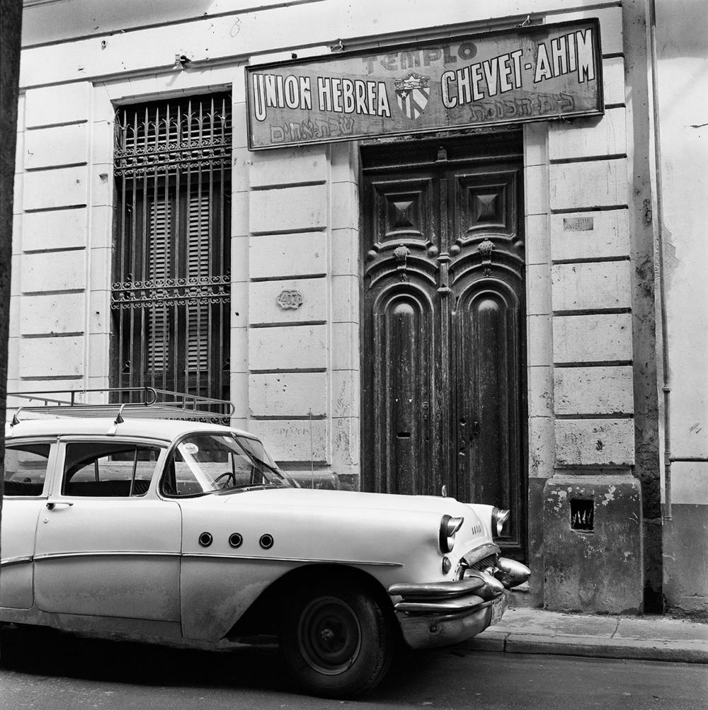 Outside Templo Chevet-Ahim- La Habana Vieja, Cuba