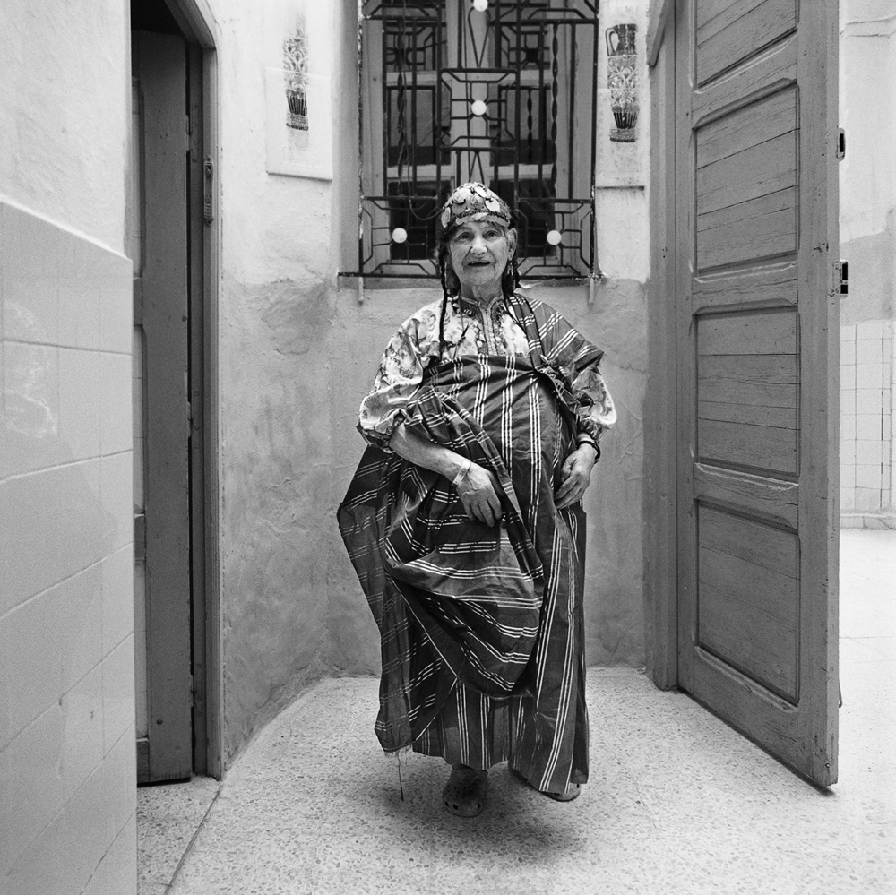 Woman in Traditional Dress- Hara Kebira, Djerba, Tunisia