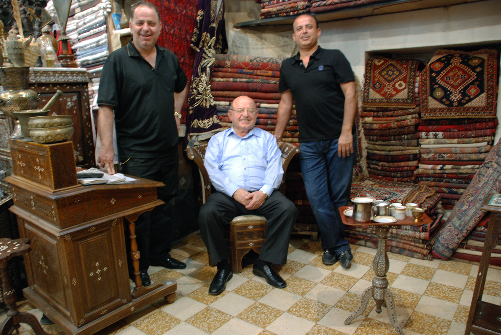 Owners of Georges Dabdoud Antiquities- Damascus, Syria