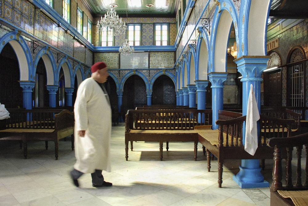 El Ghriba interior. Hara Seghira, Djerba, Tunisia