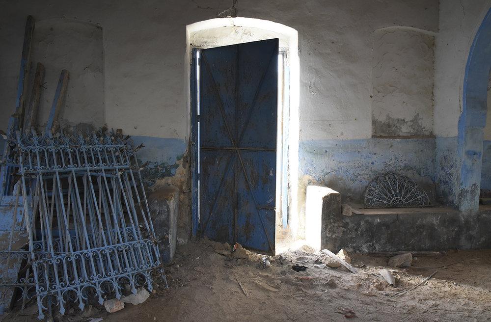 slat Muansha interior. Zarzis, Tunisia