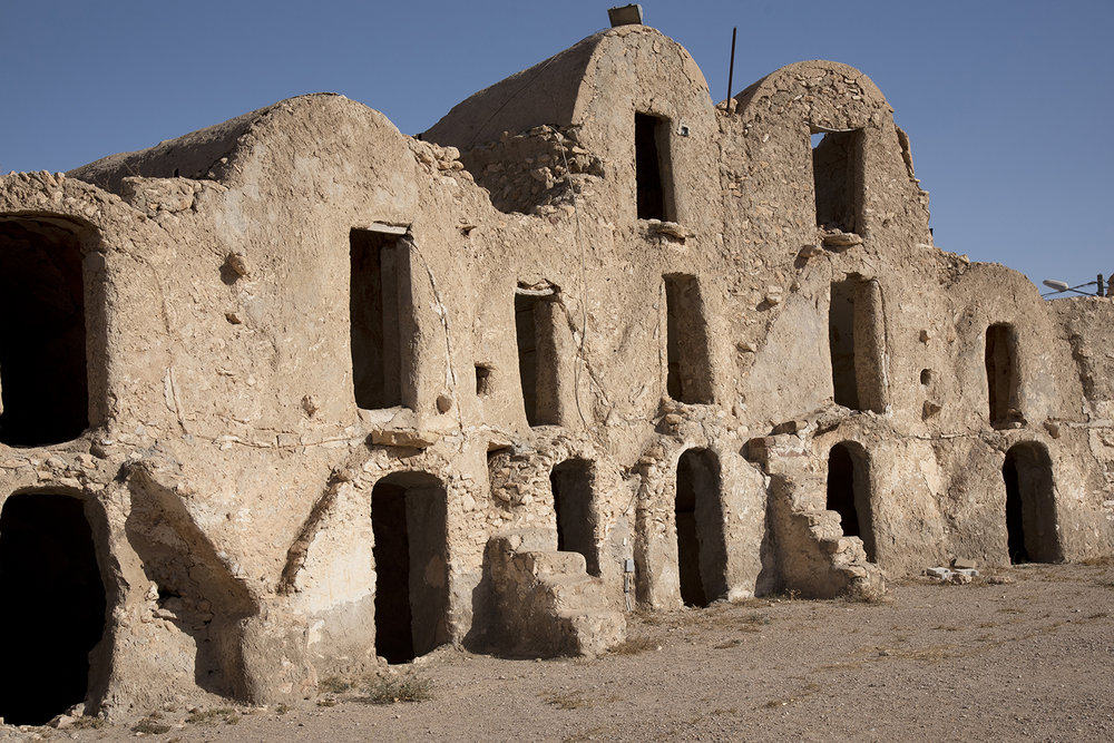 Berber Dwellings. Metameur, Tunisia
