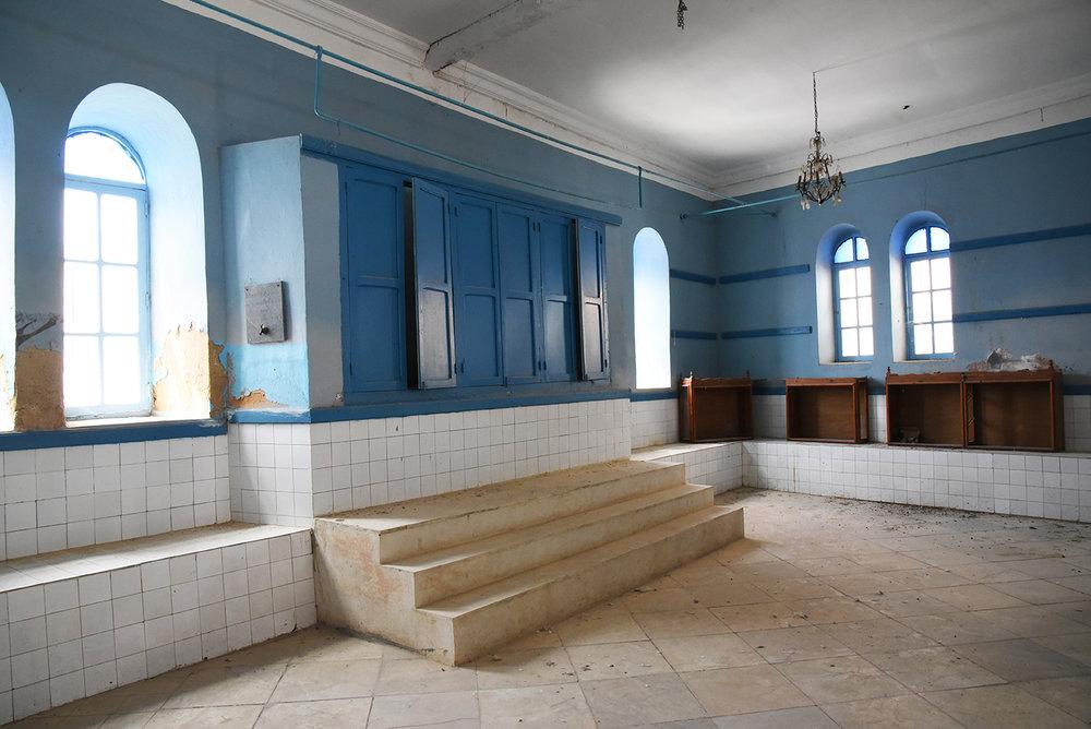 el Ghriba synagogue ark. Le Kef, Tunisia