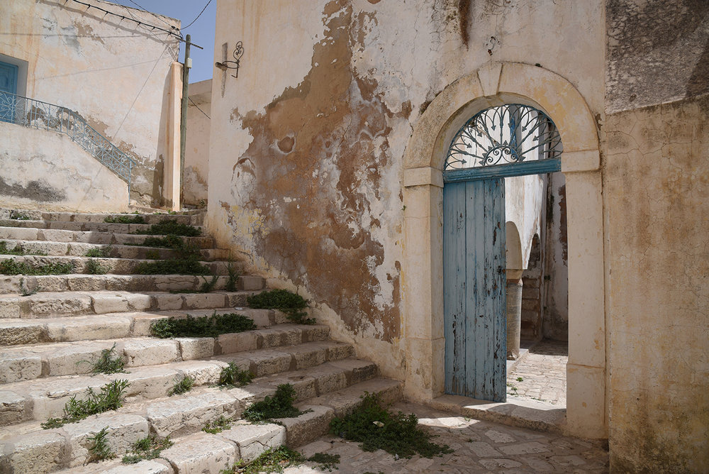 el Ghriba synagogue entrance. Le Kef, Tunisia