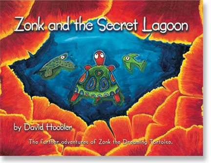 Zonk and the Secret Lagoon cover art.