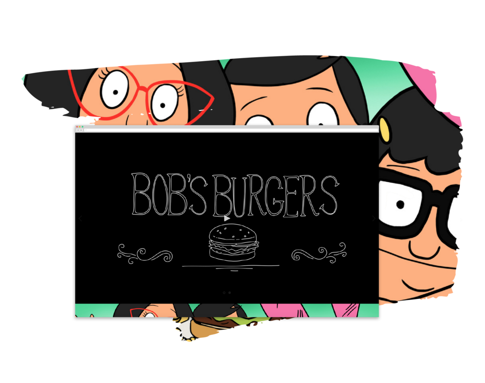 website   Bob's Burgers      View Project