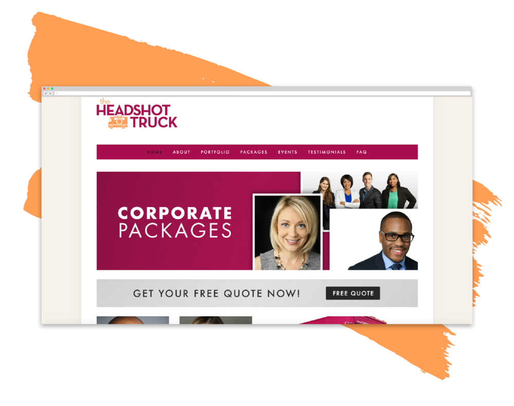 website   The Headshot Truck      View Project
