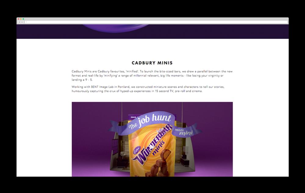 The Hive Cadbury Minis