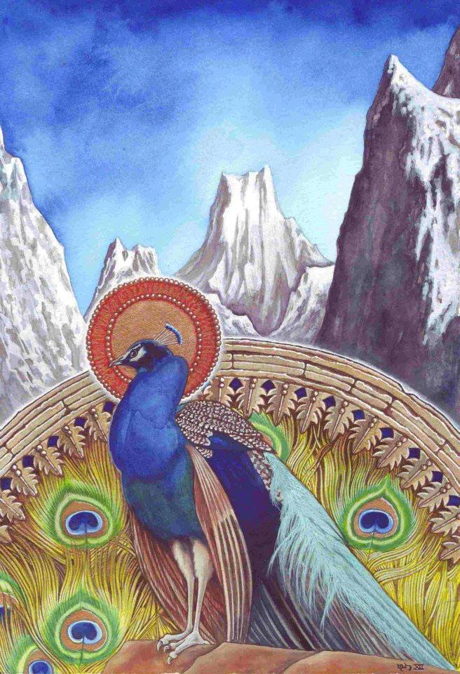 The Peacock Angel - 2012
