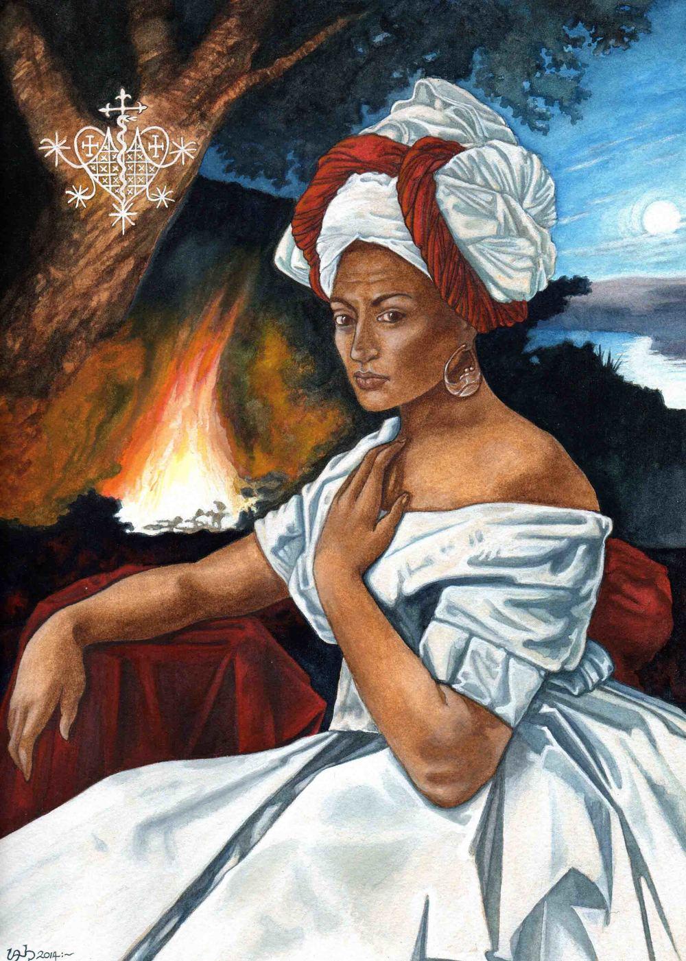 The Fires of St. John. Marie Laveau - 2014