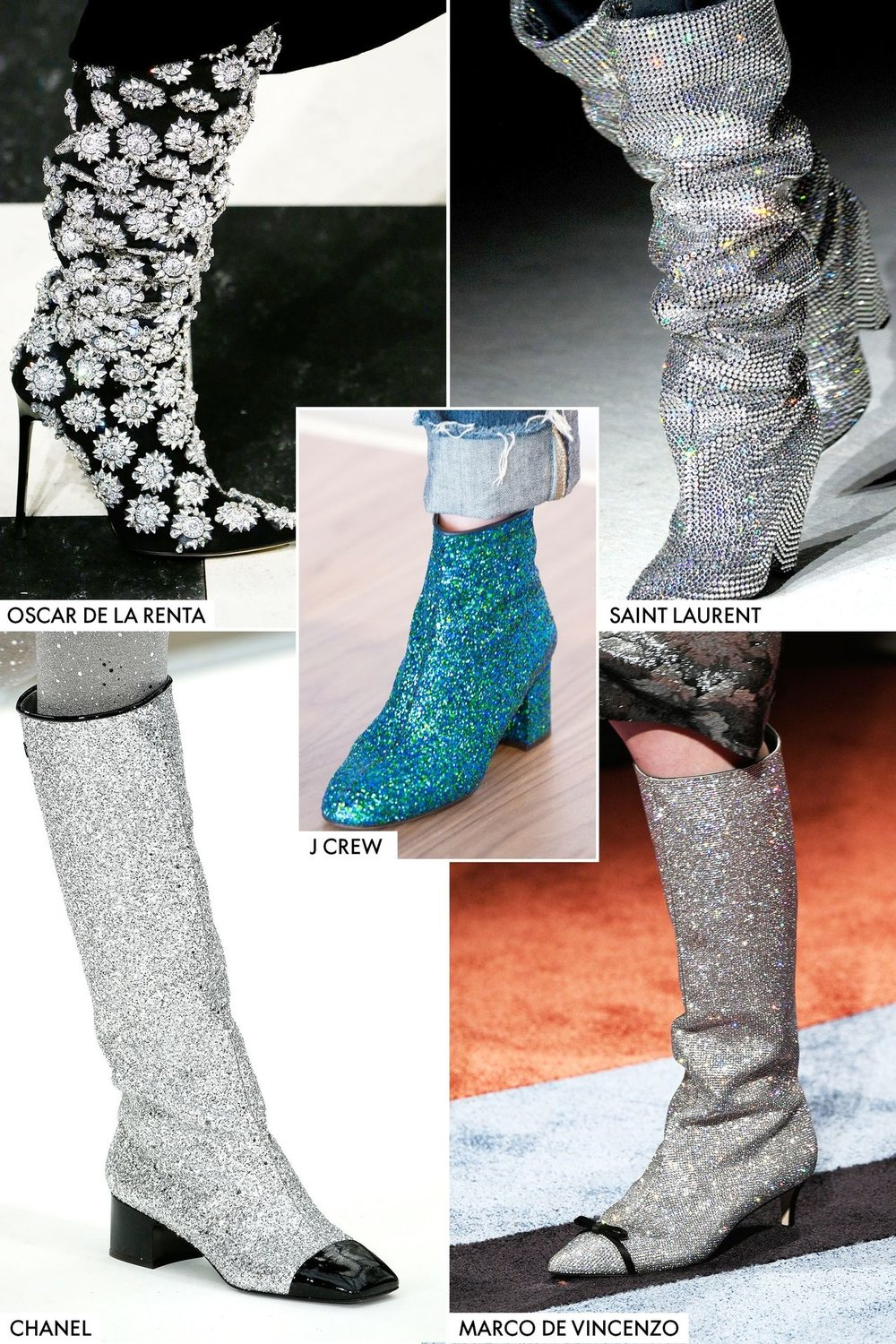 Having a pair of these in your closet would even make Ziggy Stardust jealous. Slap these bad boys on with any jean/jacket/dress combo and Ziggy wont be the only jelly belly. This is your new staple Fall boot!! Photo Credit Elle Magazine