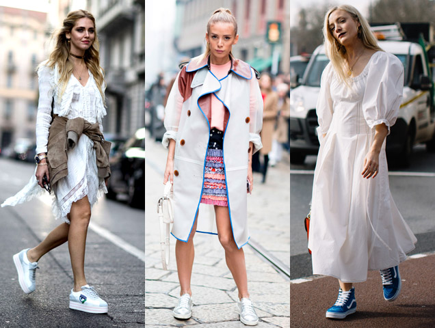 Finally, a trend even the Tomboys can get behind! Chic, comfy footwear is a godsend to any modern woman :)