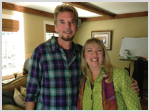 Jennifer with Kenny Loggins, Grammy Award-Winning Singer/Musician