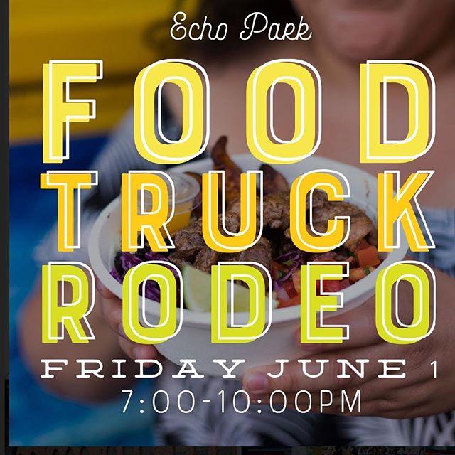 #tonight's the night #thetropictruck #echopark #foodtruckrodeo