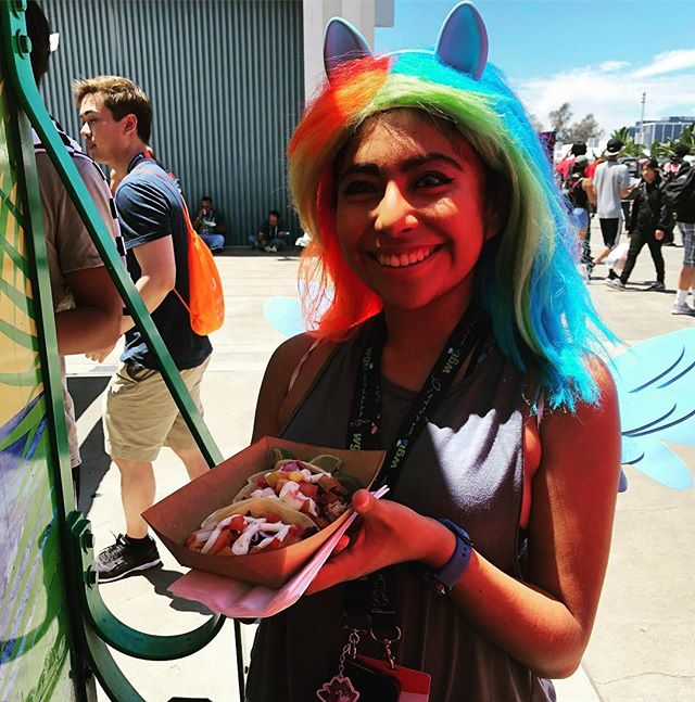 Happy #animecon day 2 #thetropictruck #caribbeanfood #America #anime
