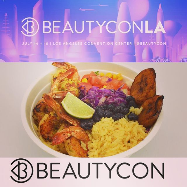 Thanks for the invite @beautycon 2018💄💋👠 #covergirl #glamazon #makeup #caribbeanfood #thetropictruck 🏝🏝🏝
