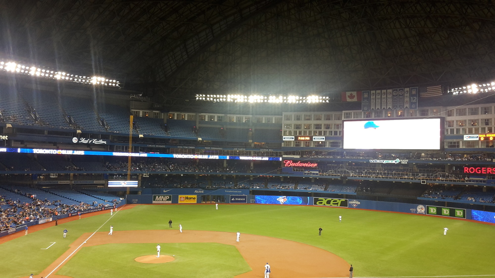 Blue Jays at the Rogers Center