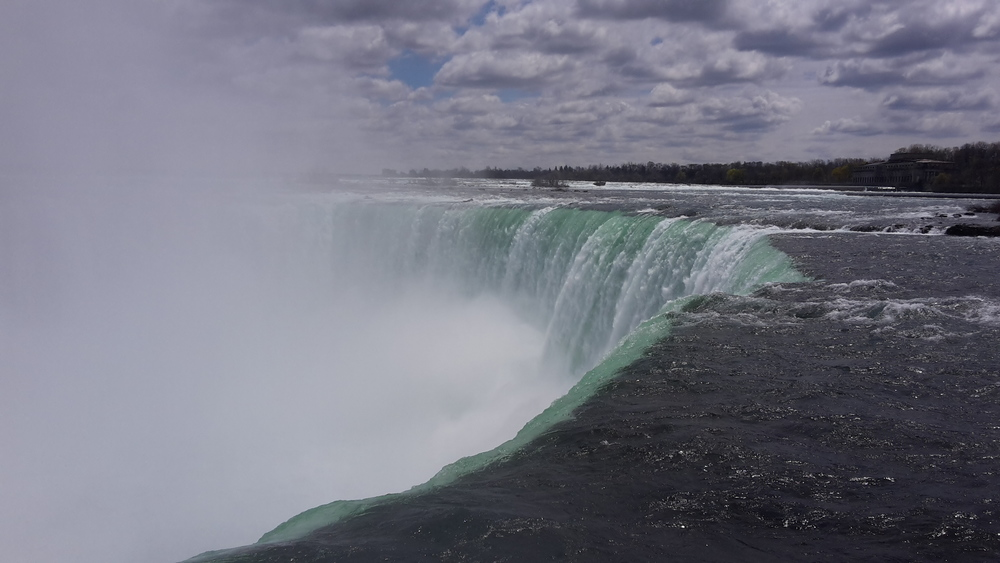 The top of the Horseshoe Falls