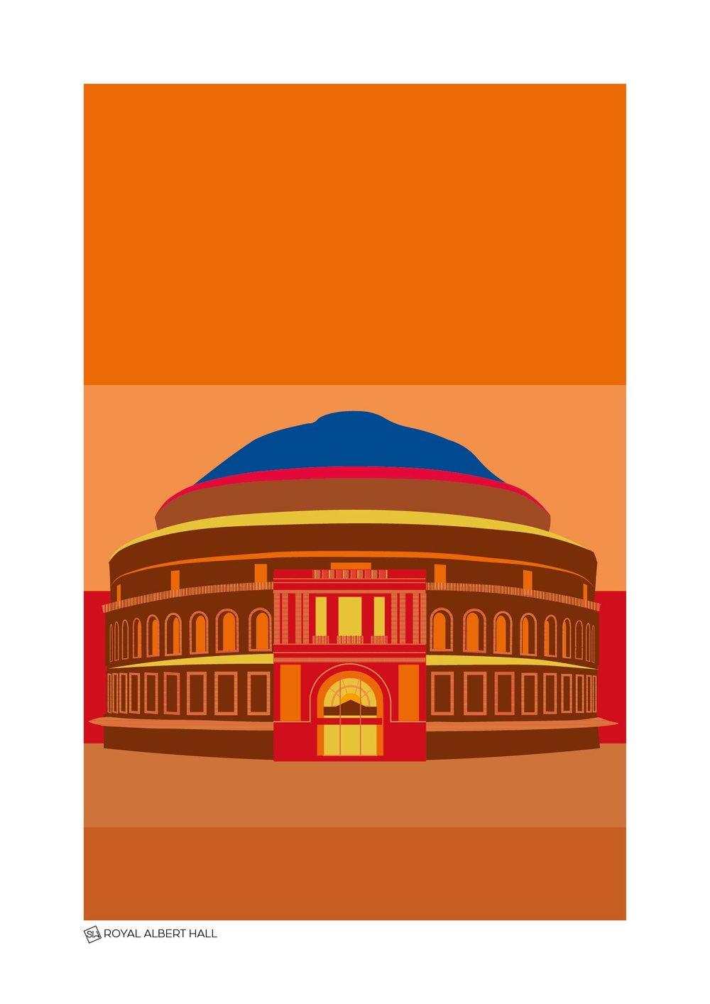 London 100_50_Royal Albert Hall Sunset.jpg