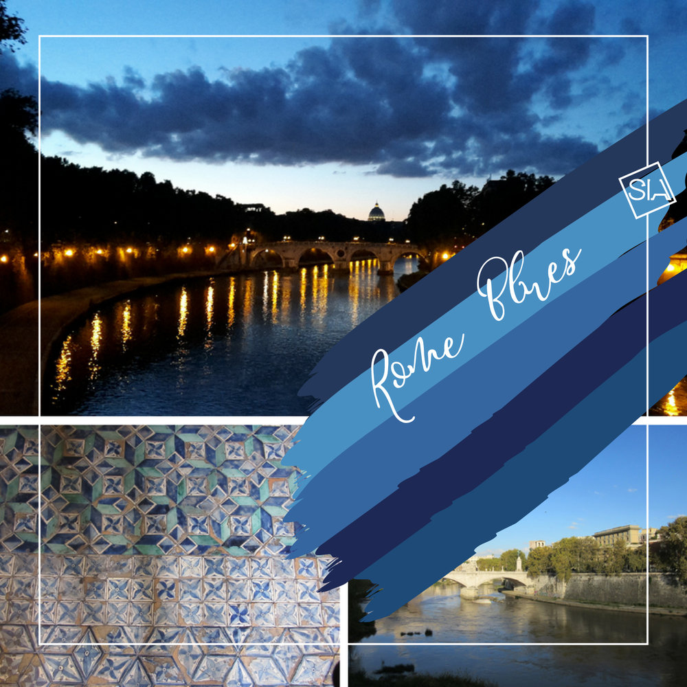 Rome blues colour story | South Island Art
