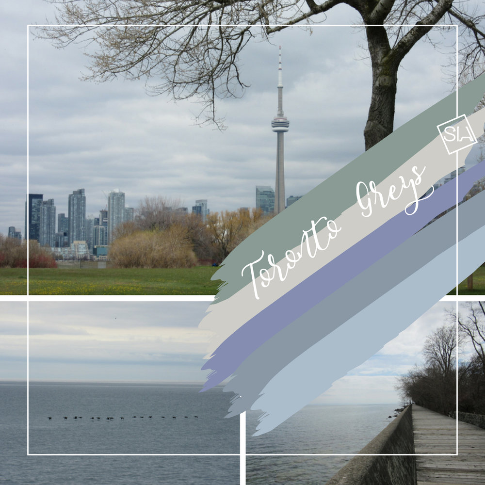 Toronto grey moodboard | South Island Art