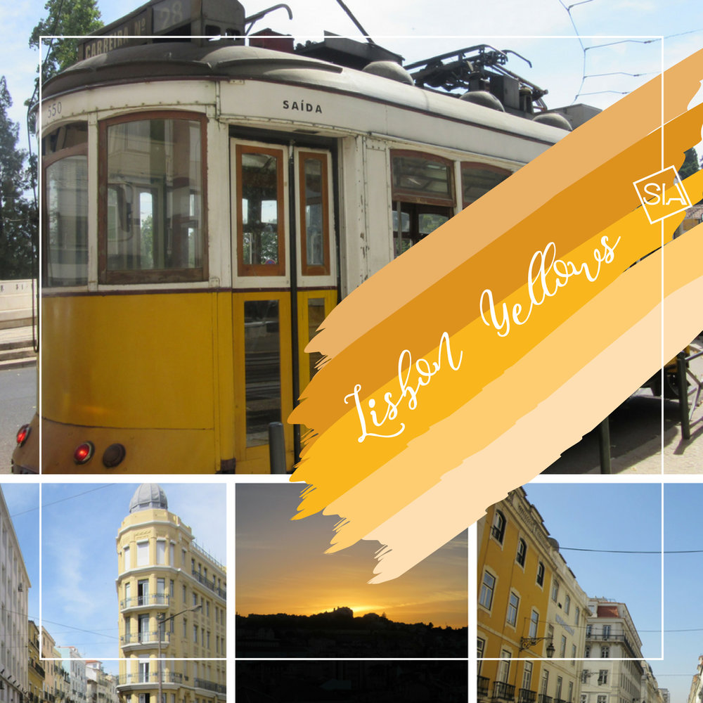Lisbon yellows for home decor | South Island Art