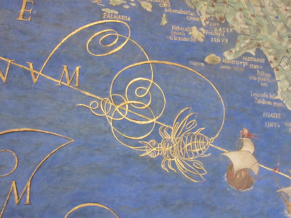 Intricate maps in the Vatican