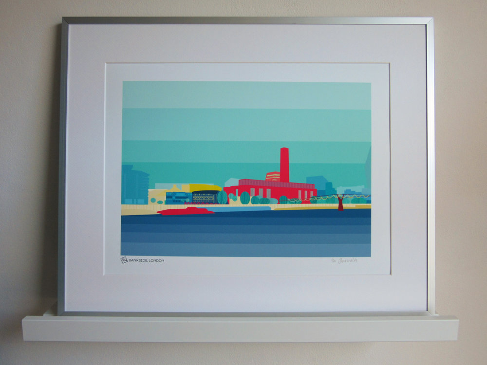 Bankside London art print South Island Art.jpg